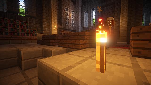 minecraft torche